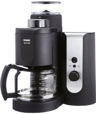 Domo DO Kaffemaschine mit Mahlwerk für 55€ inkl. Versand (Preisvergleich 71€)