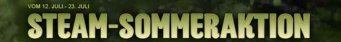 [Steam] PC Download Games: Steam Sommeraktion   jeden Tag neue Spiele mit bis 75% Rabatt!