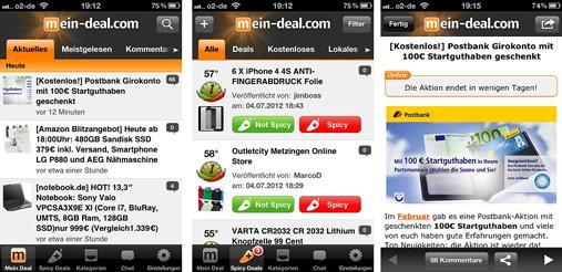 *Letzter Tag!* Mein Deal App Update testen dafür iPad 3, Retro Cruiser Roller 50ccm (ca. 1000€ Wert) & xounts Lautsprecher gewinnen