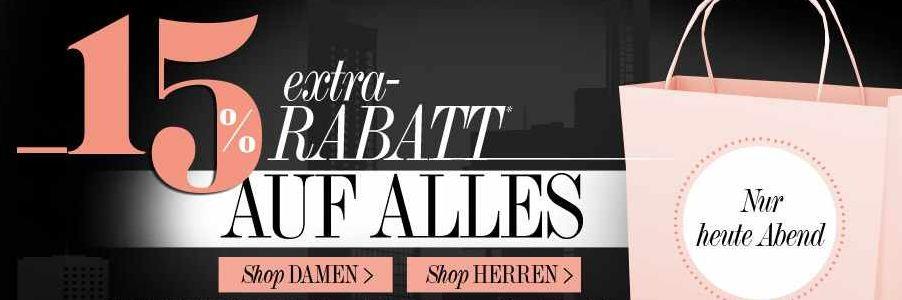 [dress for less] Nur Heute Abend / Nacht Sale:neben den 70% Rabatt auf ausgewählte Artikel   15% Rabatt auf ALLES!