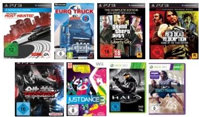 Wieder da! Game Aktion: 3 Games zum Preis von inkl. Versand nur 49€
