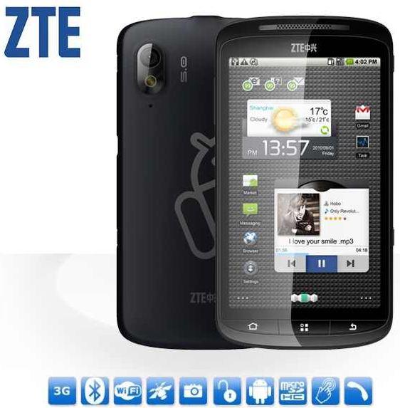 "[ebay] Android 2.3 Smartphone: ZTE Skate, 5MP Kamera, (4,3"") Touchscreen, B Ware, inkl. Versand 99,95€"
