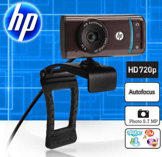 [ibood] Widescreen Webcam: HP mit 720P, Autofokus und TrueVision inkl. Versand 25,90€