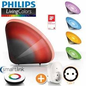[iBOOD] Philips Living Colors Conic Black mit LivingWhites Adapter 85,90