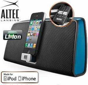 [iBOOD] iPod/Phone Dockingstation: Altec Lansing inMotion iMT630 inkl. Versand 55,90€