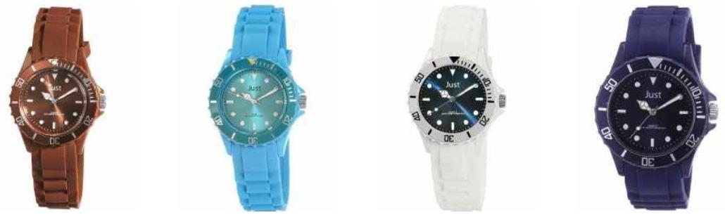 [Amazon] Just Uhren Aktion: 2 Uhren kaufen und inkl. Versand nur 36,90€ zahlen