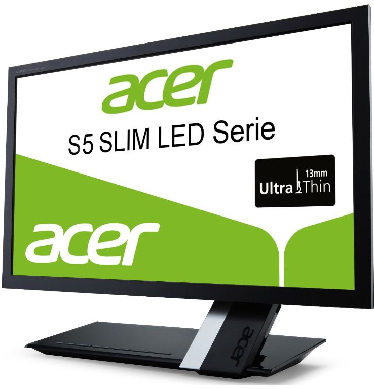 Update! Acer S235HLAbii für 139€   23 Slim LED Monitor