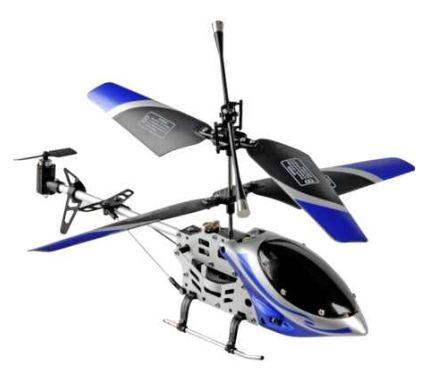 [ebay Wow] Mini Hubschrauber: fun2get, 21cm Alugestell und Gyro, inkl. Versand 14,99€