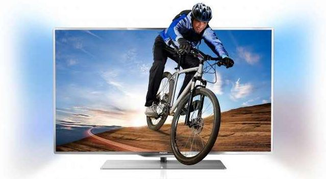 [Amazon] TV Deal des Tages: 46 3D TV Philips mit 117cm Ambilight, PMR, DVB T/C/S2, CI+, WiFi, Smart TV, inkl. Versand 1.499€