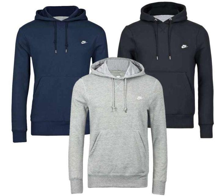 [ebay Wow] Nike Hoody: Johnson, S bis XL in den Farben schwarz, grau oder navy, inkl. Versand je 29,90€
