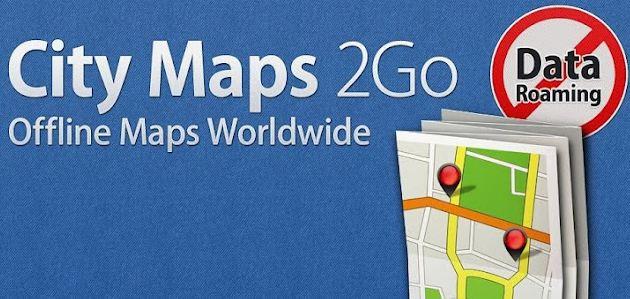 City Maps 2Go heute Kostenlos für iOS & Android