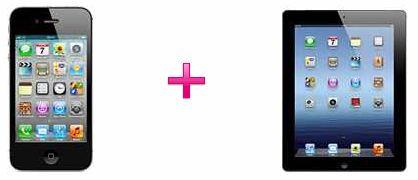 [t mobile] Knaller! iPhone 4S + das neue iPad nur 99€ inkl T Mobile All Net Vertrag!