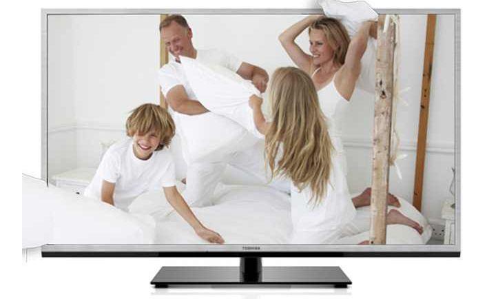 3D 40 TV: Toshiba mit 101,6 cm Full HD, Triple Tuner, CI+, DLNA, inkl. Versand 529,99€