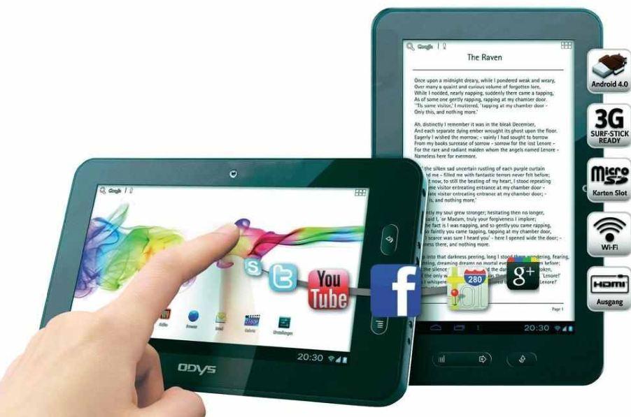 [conrad] Sale: Android 4 mini Tab 7Odys XELIO & eBook Reader (HDMI & 3G SurfStickOption) inkl. Versand 99,95€