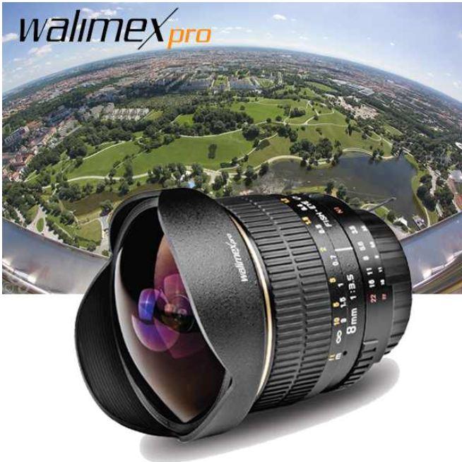 [iBOOD] Canon: Walimex Fish Eye Objektiv für SLR Digicams inkl. Versand 255,90€