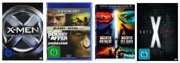 Viele reduzierte Filmboxen bei Amazon (DVD & Blu ray)