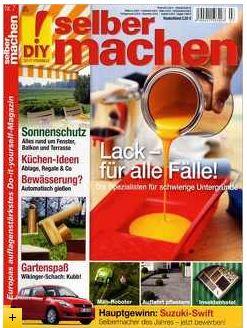 """Die Zeitschrift """"selbermachen"""" für 13 Monate für 42€ + 35€ Gutschein"""