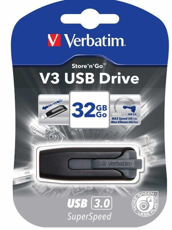 [Amazon] 32GB Speicherstick USB3: Verbatim Store n Go V3 Drive ab 17,95€