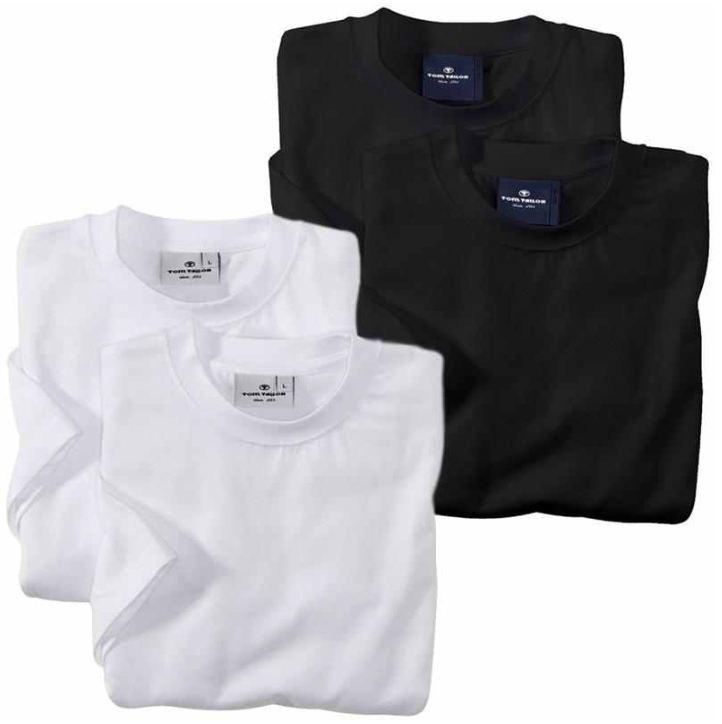 [ebay Wow] 4er Pack T Shirt: Tom Tailor (Größen S bis XXL) 3 Farbkombinationen inkl. Versand 24,90€