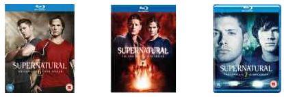 [Zavvi] Blu ray Aktion: Supernatural, inkl Versand ab 12,95€