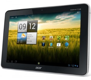 Acer Iconia A210 10,1″ Tablet (NVIDIA Tegra 3 Quad Core, 1,2GHz, Android 4.0) ab 209,99€ inkl. Versand