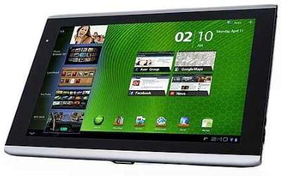 [ebay] Acer Iconia A501, 16GB, 3G, HDMI, Android 3.2 inkl. Tasche und Versand 299€