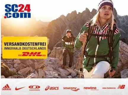[DailyDeal] 30€ Gutschein: für SC24.de, für Sportartikel von Nike, Puma, Asics und andere im Wert von 60€