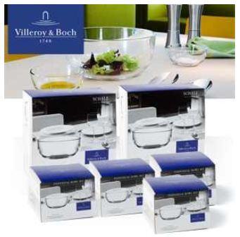 [iBOOD] Villeroy & Boch Set: 2 Kristallglas Salatschalen und 8 Kristallglas Dessertschalen inkl. Versand nur 58,90€