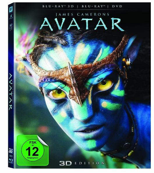 [Conrad] Blu rays: Avatar 3D + The Dark Knight Rises inkl. Versand 32,13€