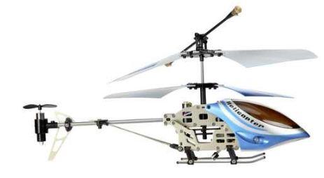 [ebay] Mini Hubschrauber: fun2get, 21cm Alugestell und Gyro, inkl. Versand 16,90€