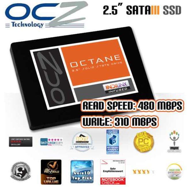 """[iBOOD]  2.5"""" SSD mit SATA III Anschluss: OCZ Octane S2 256GB inkl. Versand nur 155,90€"""