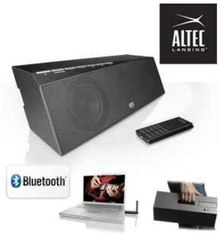 [iBOOD] Altec Lansing inMotion Air: mobiler universal Bluetooth speaker, inkl. Versand 85,90€