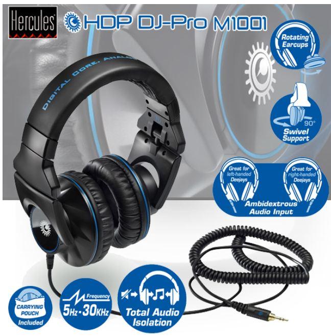 [iBOOD] DJ Kopfhörer: Hercules HDP DJ Pro M1001 inkl. Versand 75,90€