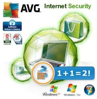 [iBOOD] Doppelpack AVG Internet Security 2012 inkl. Versand 15,90€