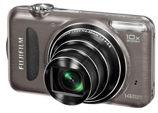 [ebay Wow] Digitale Kompaktkamera: Fuji Finepix T200 (10 fach opt. Zoom 14MP graumetallic) inkl. Versand 69,99€