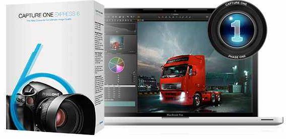 [Kostenlos] Update! Bildbearbeitungs Programm: Capture ONE Express 6 zum Donwnload gratis!