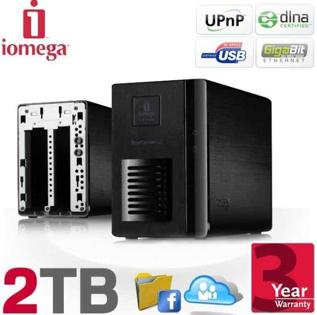 Update! Iomega StorCenter ix2 NAS mit 2TB für 149,90€