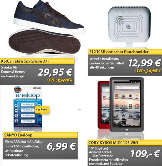 OHA WE Deals   4 x Sanyo Eneloop Micro Akku für 6,99€