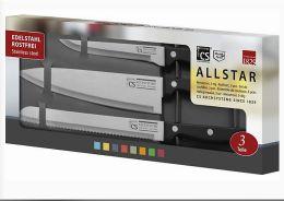 CS Solingen All Star 3 teiliges Messerset für 8,99€ inkl. Lieferung