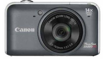 [ebay Wow] 12.1 MP Digitalkamera: Canon PowerShot SX220 HS in grau (EU Ware) inkl. Versand 169€