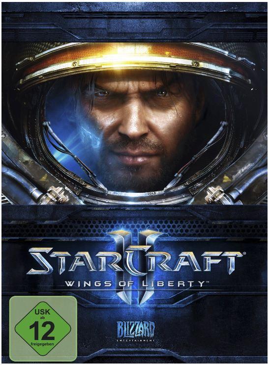 StarCraft II: Wings of Liberty ab 15€ inkl. Versand (für Primekunden)   Standard PC Version