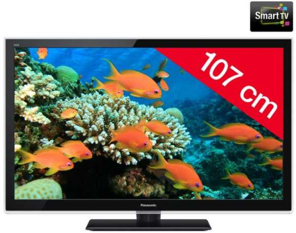 [Amazon] 42 TV: Panasonic 107 cm mit Full HD, 100 Hz, DVB T/C, inkl. Versand 499€