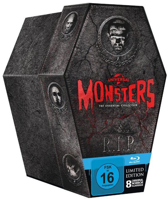 [Amazon] Neue Blu ray Boxen: Hitchcock und Monster Box!