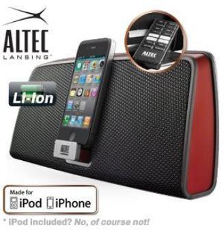 [iBOOD] iPod/Phone Dockingstation: Altec Lansing inMotion iMT630 inkl. Versand 45,90€