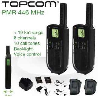 [iBOOD] Funkgeräte Set: Topcom TwinTalker 7100 Sport Pack mit bis zu 10 Km Reichweite inkl. Versand 55,90€