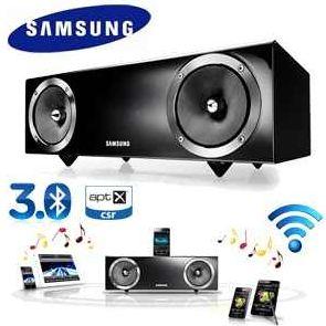 [iBOOD] Wireless Audio Dock: Samsung DAE670 klarer Sound durch Glasfaser Lautsprecher, inkl. Versand 258,90€