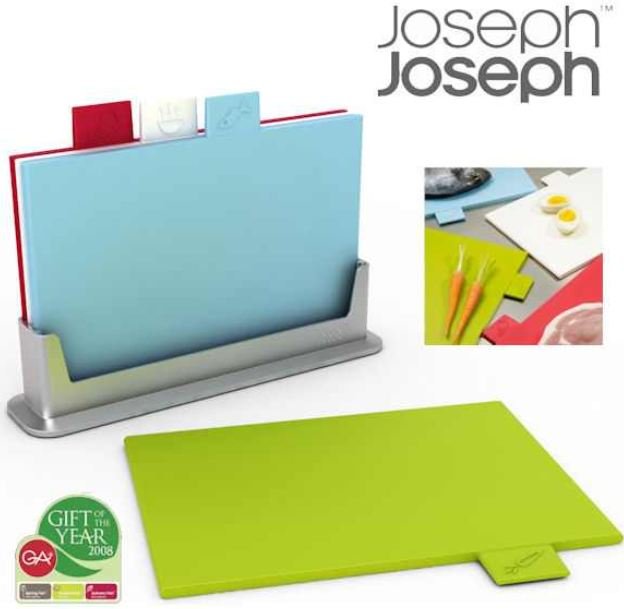 [iBOOD] Schneidebrett Set mit 4 Brettchen: Joseph Joseph Special Edition inkl. Versand 30,90€