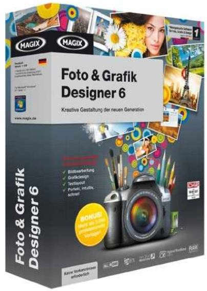 [Kostenlos] Software download: MAGIX Foto & Grafik Designer 6 Vollversion Gratis!