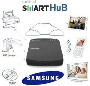 [iBOOD] Samsung: Optical Smart Hub, WiFi Access Point und DLNA zum Streamen und DVD Brennen inkl. Versand 65,90€