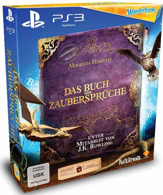 [Amazon] PlayStation Move: Starter Pack + Sports Champions + gratis Wonderbook inkl. Versand 49,99€